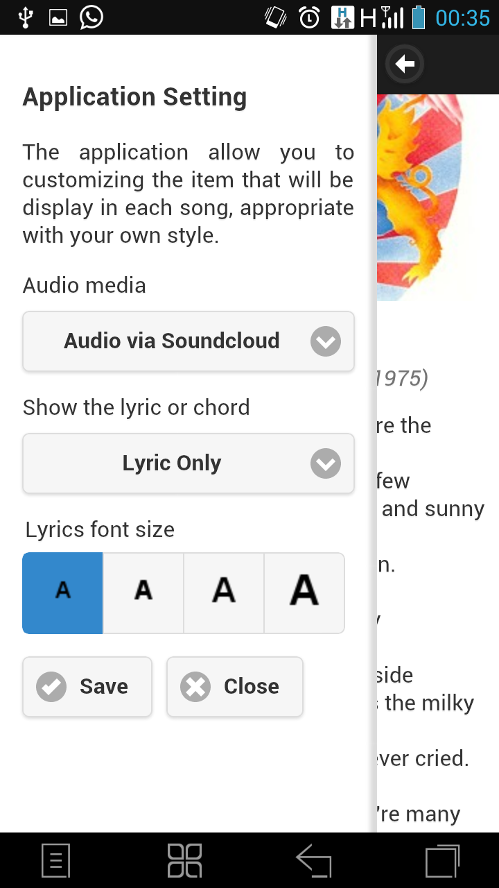 Free Queen Song Lyric And Chord In Android Mobile Application